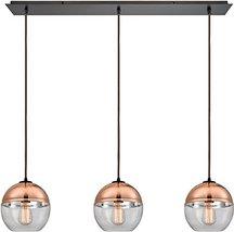 Elk Lighting 10490/3LP Pendant Light Oil Rubbed Bronze - $812.00