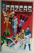 The Vic Bridges Fazers Sketchbook And Fact File #1 (1986) Ac Comics Color FINE- - $12.86