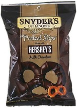 Snyder's Of Hanover Dipped in Hershey's Milk Chocolate Pretzel Dips, 6 O... - $12.99