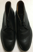 Vince Camuto Kritter – Two-eye Chukka  Black Shoes Men US Size 8 - $106.18