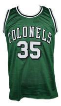 Darel carrier  35 kentucky colonels aba basketball jersey green   1 thumb200