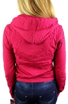 NEW NWT LEVI'S JUNIORS BASIC CLASSIC COTTON ATHLETIC HOODIE JACKET SWEATER RED image 2
