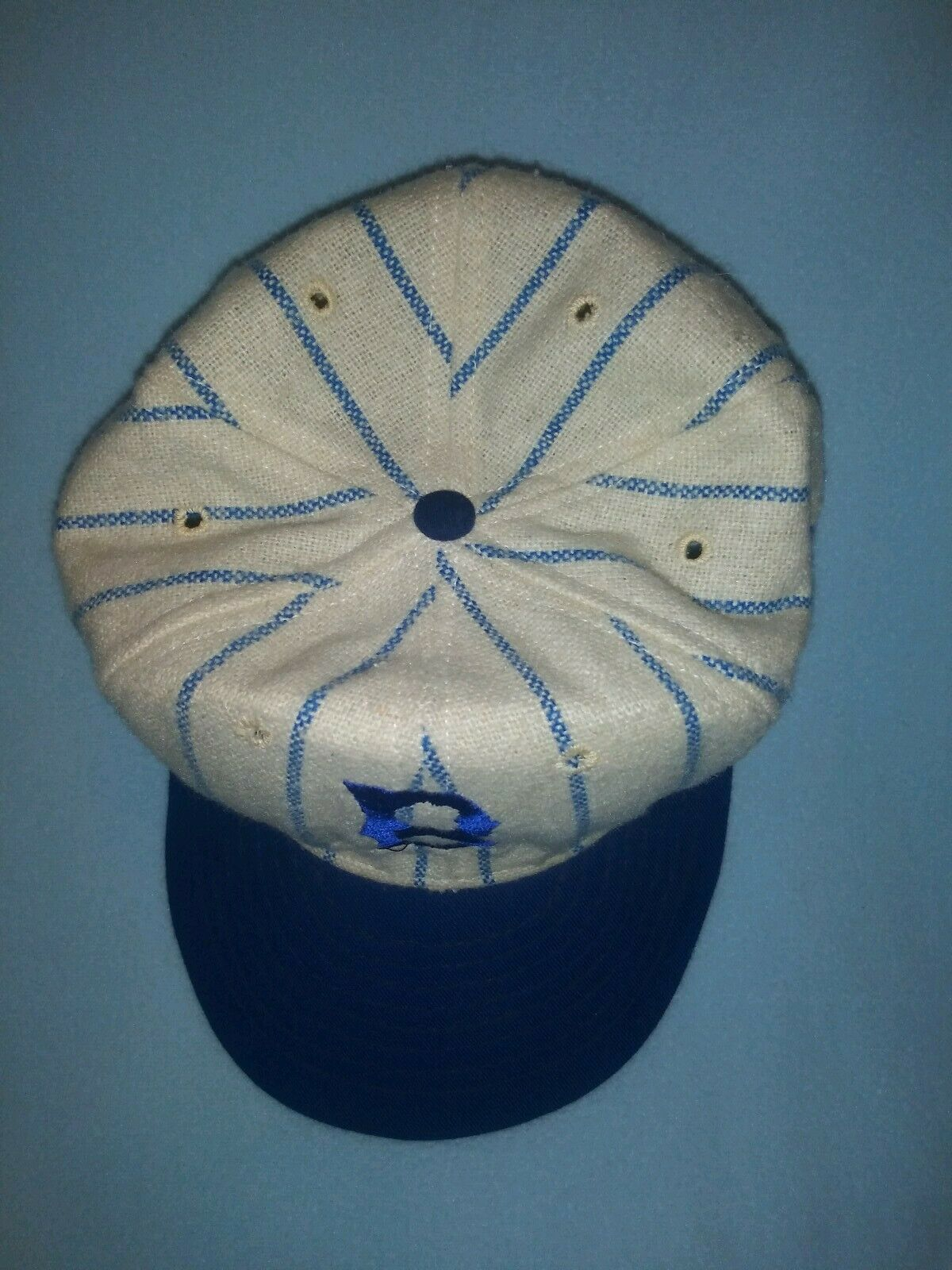 Vintage Brooklyn Dodgers Pinstripe Made In The Usa Hat ⚾  Mlb