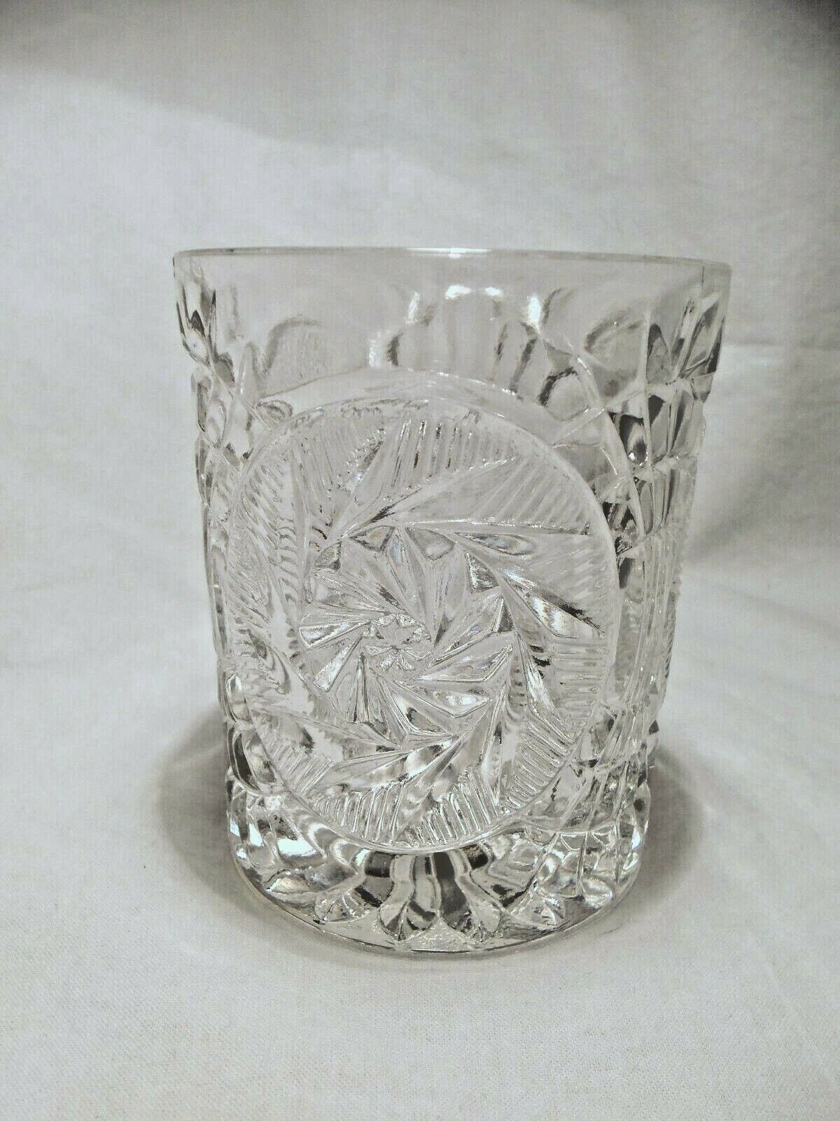 Primary image for 8 Fostoria STOWE clear Double Old Fashion Rocks glasses