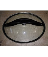 "8DD66 CROCK POT LID, WITH RUBBER SEAL, 12-1/8"" X 9-5/8"" OVAL, UNKNOWN MA... - $9.78"