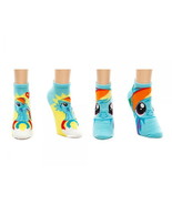 My Little Pony Dash 2 Pair of Multi-Color Ankle Socks, NEW UNUSED - $14.50