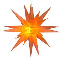 Amber-Orange LED Moravian Star - $41.58