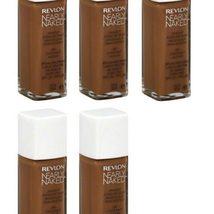 (5-PACK) Revlon Nearly Naked Makeup, SPF 20, Nutmeg 230 - 1 fl oz bottle - $58.99