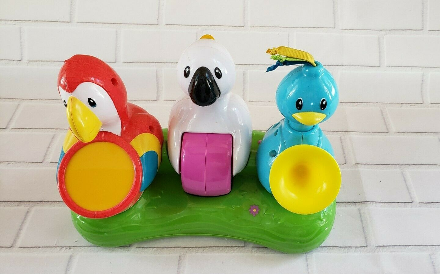 EVENFLO Life in the Amazon Exersaucer Jungle Bird Band Replacement Parts - $17.29