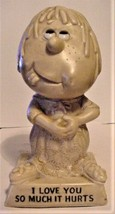 "1970's Vintage R & W Berries I Love You So Much It Hurts Figurine 6"" - $7.99"