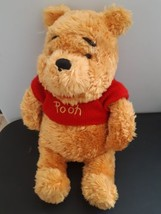 "Disney Store Winnie The Pooh Plush Stuffed Animal Bean Arms Legs 12"" Tall - $16.78"