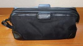 Buxton Black Travel Shaving Toiletry Overnight Bag Case