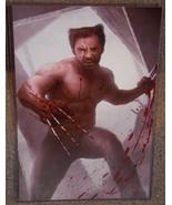 X-MEN Hugh Jackman Wolverine Glossy Art Print 11 x 17 In Hard Plastic Sl... - $24.99