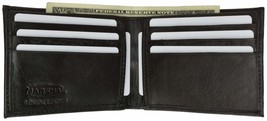 Genuine Leather Classic Bifold Mens Wallet 1158 - $7.99