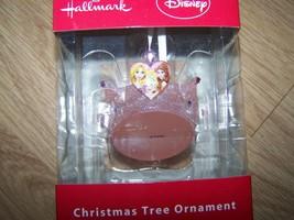 Hallmark Disney Princess Pink Tiara Christmas Holiday Ornament Rapunzel ... - $16.00