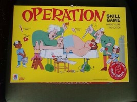 vtg 2003 Operation Brain Freeze Skill surgery doctor family board game C... - $25.00