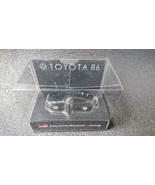 TOYOTA 86 Light Keychain Black Pull Back Mini Car JAPAN Not Sold in stores - $24.97