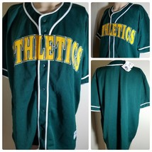 Oakland Athletics A's Jersey MLB Vintage Green Team Baseball Size XL - $75.70