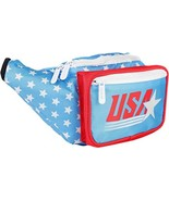 SoJourner Bags Fanny Pack - Retro USA American Flag - $44.64