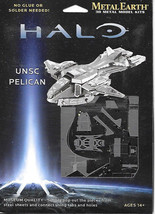 HALO Game UNSC Pelican Metal Earth 3-D Laser Cut Steel Model Kit #MMS292... - $11.60