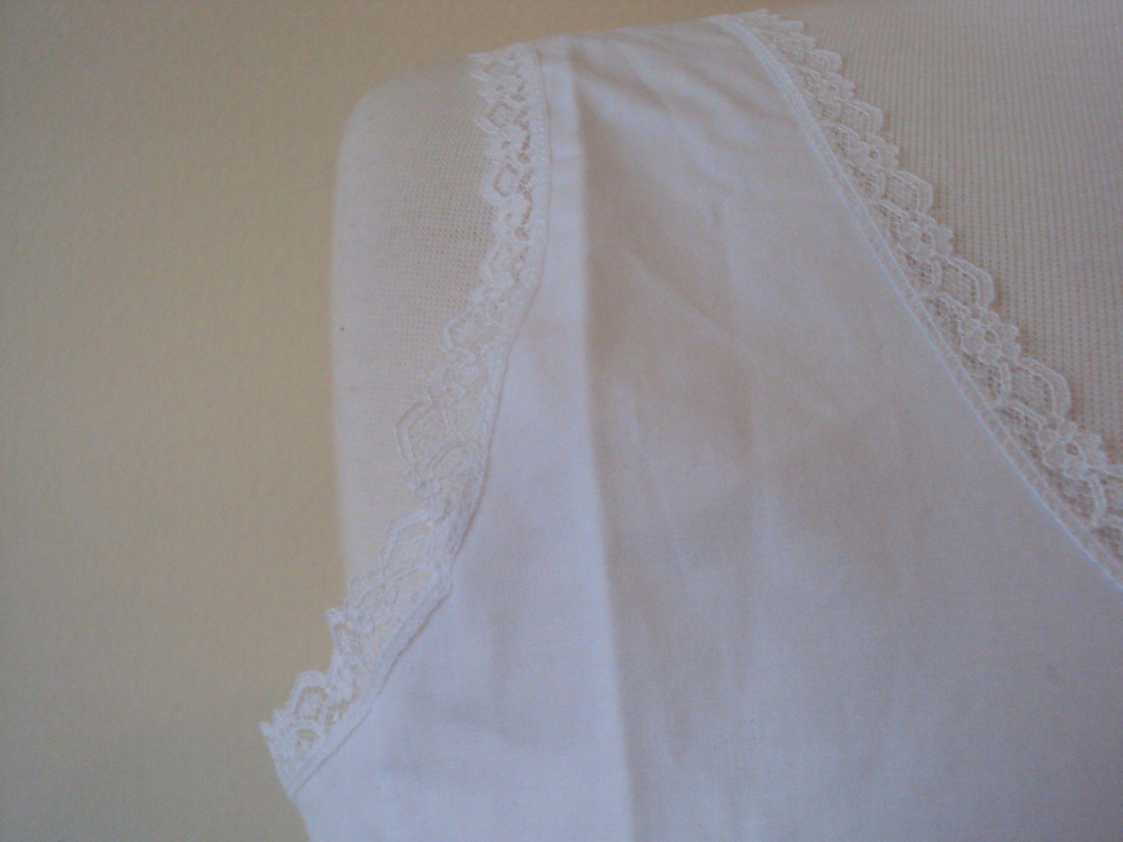 Velrose Lingerie Cool Cotton Cotton Full Slips White Style 801 size 36-54 image 3