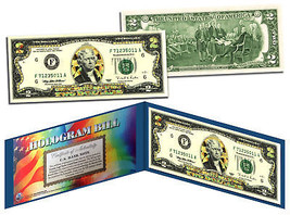 GOLD DIAMOND CRACKLE HOLOGRAM Legal Tender US $2 Bill Currency *Limited ... - $13.81