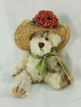 "Boyds Bears Minnie Higgenthrope 7""  #918441 Floral Hat Bear AEF07 - $6.95"