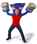 Massive Monster Mayhem MACHO CHEESE Inflatable Bash Armor - Helmet & Fis... - $19.94