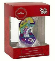 Hallmark Christmas Tree Ornament Polly Pocket 2019 Red Box New Collectible  - $9.95