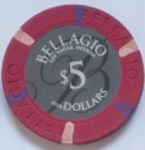 Bellagio Las Vegas, Nevada Five Dollars Collectible Casino Chip - $7.95
