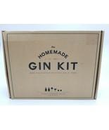 The Homemade Gin Kit Brand New Includes Bottles Berries & Strainer - $38.69