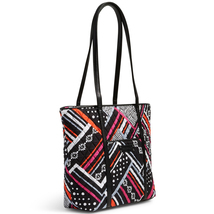 Vera Bradley Small Trimmed Vera Bag, Northern Stripes