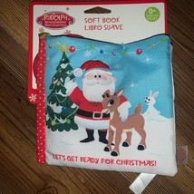 Rudolph The Red-Nosed Reindeer Soft Book for Infants Crinkle Sounds 0 Mo... - $12.00