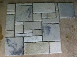 DIY Castle Stone Cement Paver Kit w/29 Molds Color Sealer & More. Fast Free Ship image 3