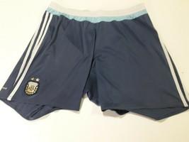 old soccer  short  AFA. Argentina   aprox. original  Aero BLu size XL  - $28.71