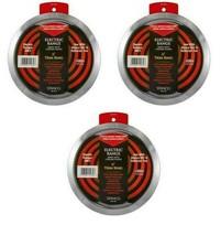 (3) Stanco Meta GT-6 6 Inch Chrome Trim Ring - $23.76