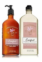 Bath and body works comfort lotion (6.5oz) and body foam(10oz) (SET OF 2) - $31.99