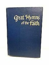Great Hymns of The Faith Vintage Hymnal 1968 by Singspiration Blue Hardc... - $10.00