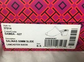 Tory Burch NIB Salinas 55mm Slide Samba sz 8.5 - $143.54