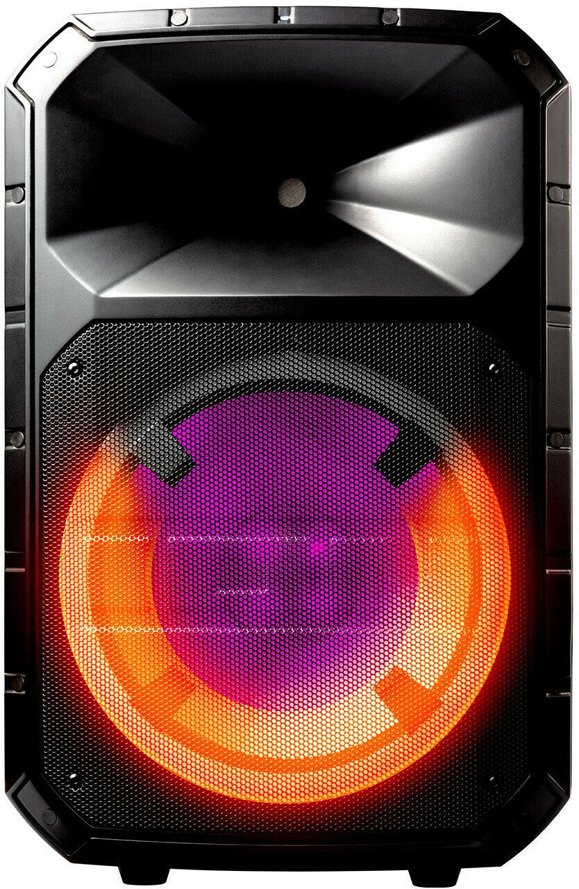 Total PA System Bluetooth Wireless Portable Speaker LED Lights ION Audio Plus image 2