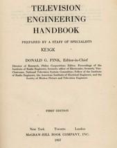 Television Engineering Handbook * 1957 * CDROM * PDF - $8.99