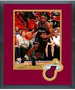 Justise Winslow 2018-19 Miami Heat -11x14 Team Logo Matted/Framed Photo - $43.55