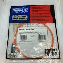 NEW TRIPP LITE N304-003 Duplex Multimode 62.5/125 Fiber Patch Cable SC/ST 3ft - $11.88