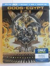 Gods of Egypt Best Buy Steelbook (3D + Blu-ray + DVD) image 3