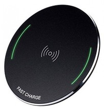 Wireless Charger QI Certified 7.5W Wireless Charging For IPhone X 8/8 Plus, Pad - $25.38