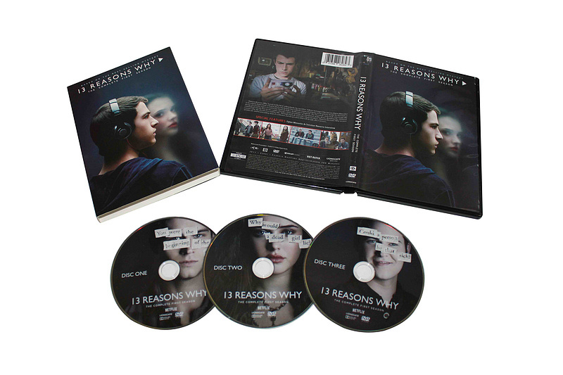 13 Reasons Why The Complete First Season 1 DVD Box Set 3 Disc Free Shipping New