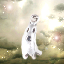 HAUNTED PENDANT HALLOWEEN GHOST SPIRIT DETECTOR  SPECIAL SAMHAIN MAGICK - $374.77