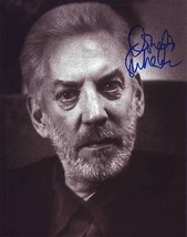 Donald Sutherland In-Person AUTHENTIC Autographed Photo COA SHA #28037 - $60.00