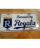 Kansas City Royals Metal Tag License Plate  Premium Baseball - $14.84