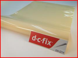 DC Fix Beige/Cream Gloss Finish Self Adhesive Vinyl 17.7'' x 39.3'' 200-2214 - $10.25